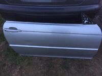 BMW e46 coupe/convertible drivers side door in Titan silver