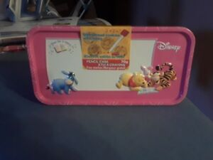 Pink Winnie the Pooh Pencil/Pen case