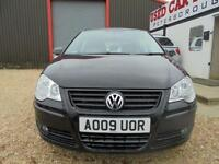 2009 09 VOLKSWAGEN POLO 1.4 MATCH 5D, ***ONLY 38K***