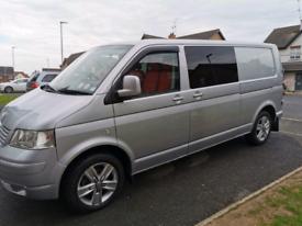 2008 Volkswagen transporter 2.5tdi lwb campervan