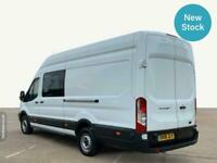 2018 Ford Transit 2.0 TDCi 130ps Double Cab Extra Long Wheelbase L4H3 High Roof