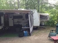 2010 - 19 foot Hybrid Flagstaff Shamrock travel trailer