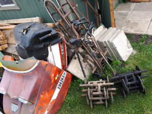 Old sled parts make an offer on all