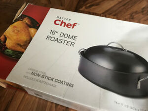 High Domed Roasting Pan - New Condition
