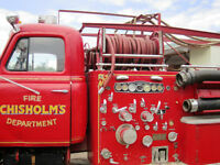 1955 International Vintage Fire Truck. R185 Series. Model RD-372