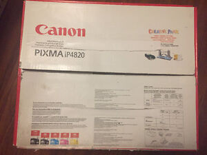 ★★ Canon PIXMA iP4820 Premium Inkjet Photo Printer in box ★★