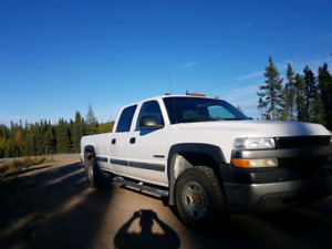 Gmc sierra 2500hd 2002 2x4