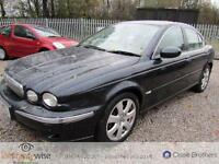 JAGUAR X-TYPE 2198cc DIESEL, Black, Manual, Diesel, 2005 1 OWNER FROM NEW 2 KEYS