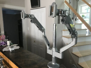 Human scale M8 Monitor arms