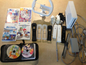 Nintendo Wii, Accessories, and 50+ Games