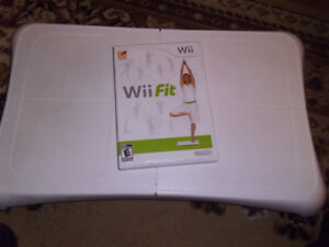 wii fit with board