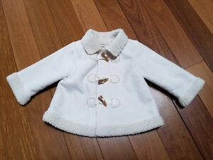 Girls Fall Coat - size 6 - 12 mths