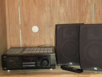 SOLD = JVC receiver RX-7010VBK with 2 JBL Speakers Moncton New Brunswick Preview
