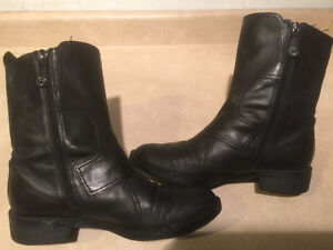Women's Enzo Angiolini Leather Boots Size 8 London Ontario image 6