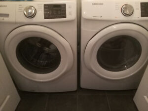 Washing machine and dryer Samsung with warranty extension