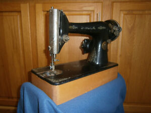 Singer sewing machine conversation piece