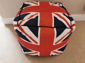 Cube Union Flag Beanbag