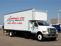 MOVING AND STORAGE SERVICES-CALGARY CITY MOVERS INC.403-926-6506