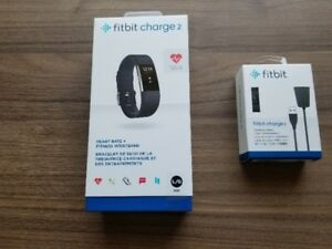 Fitbit Charge 2 noire