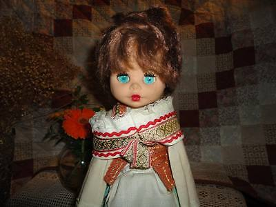 Vintage Russian Lithuanian Highlands Doll In Traditional Outfit 17 - Traditional Russian Outfit