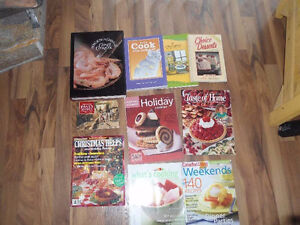 Cook Books and Magazines