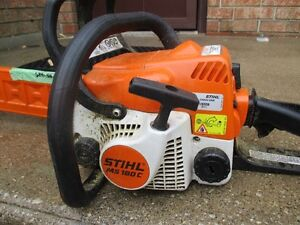 STHIL CHAINSAW MS 180 C