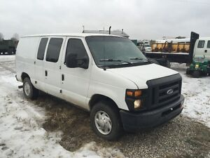 2008 FORD E350 SUPER DUTY CARGO VAN ONLY$5,995