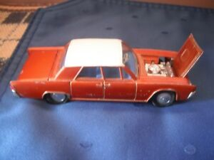 Dinky #170 Lincoln Continental made by Meccano '64-'66 Kingston Kingston Area image 2