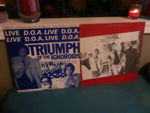 Vinyl Records Punk D.O.A. Triumph of the Ignoroids,Something Lot