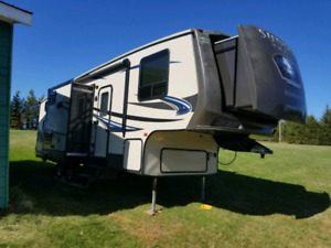 2014 sunset trail reserve 28bh bunk fifth wheel