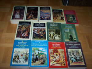 13 CHARLES DICKENS softcover World Classic books