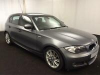 £170.73 PER MONTH BMW 118 2.0D 2011 M Sport 5 DOOR MANUAL DIESEL