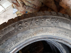 Snow Tires from a hyundai accent