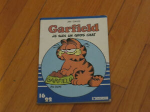 BD     1 GARFIELD  --JE SUIS UN CHAT  -- DARGAUD 16/22