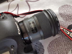 Sigma 24mm F1.4 art + usb dock for Canon