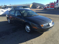 2002 Saturn S-Series SL Sedan Low Low Mileage only 53k