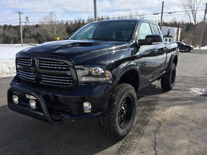 2016 Dodge Ram 1500 Sport **Lifted Blackout Edition**