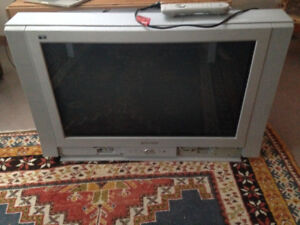 Old CRT TV still working.