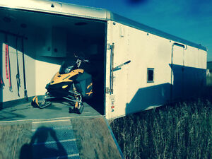 2006 Charmac Enclosed Trailer