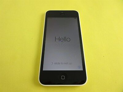 Apple iPhone 5C 8GB (GSM Factory Unlocked) White Color