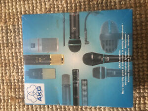 New AKG D112 Dynamic cardoid microphone for base instruments.