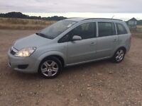 2009 Vauxhall zafira, 1.6 petrol PCO car for sale