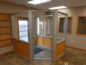 Store Front Office Enclosure