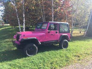 Jeep YJ 1991 2500$