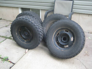 4 Winter Tires with Rims - Ford 2010 Ranger