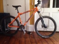 ORANGE CRUSH mountain bike