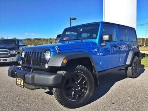 2015 Jeep Wrangler Unlimited Sport Willys