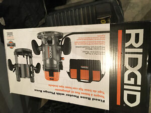 Ridgid Router - Brand new in sealed box