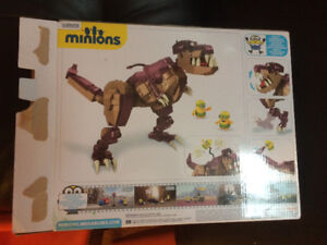 Minion LEGO mega blocks dinosaur 421
