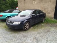 Audi A4 1.8t sport B6 breaking for parts spares2004